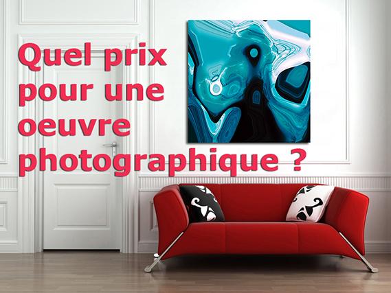 Quels prix pour une œuvre photographique ?